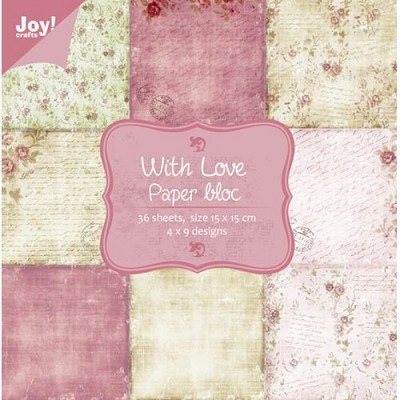 Noor! Design - Papierblok - With love paper bloc