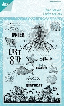 Joy!Crafts Clear Stamps - Under the Sea