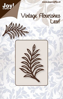 Noor! Design - Vintage Flourishes - Leaf 2