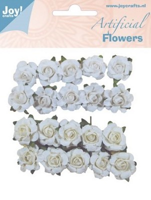 Joy! Crafts - Artificial Flowers wiy / creme 6370/0062