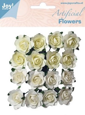 Joy! Crafts - Artificial Flowers wit/creme 6370/0063