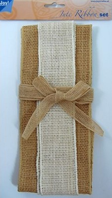 Joy! Crafts - Jute ribbon set - naturel