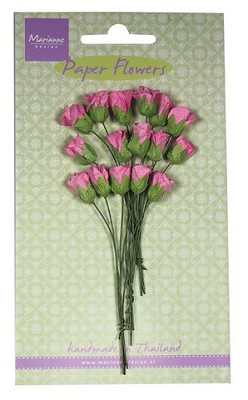 Marianne D Decoration Roses bud - bright pink RB2240
