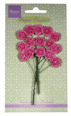 Marianne D Decoration Roses - bright pink RB2246