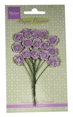 Marianne D Decoration Roses - light lavender RB2248