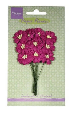Marianne D Decoration Daisies - medium pink RB2253