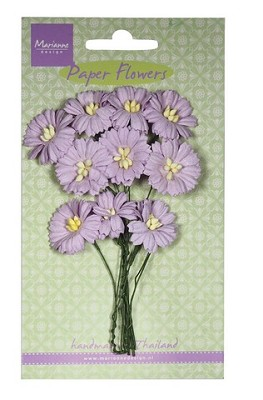 Marianne D Decoration Daisies - light lavender RB2254