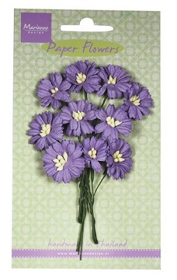 Marianne D Decoration Daisies - dark lavender RB2255
