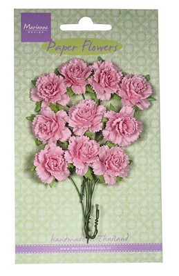 Marianne D Decoration Carnations - light pink RB2257