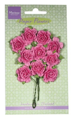 Marianne D Decoration Carnations - bright pink RB2258