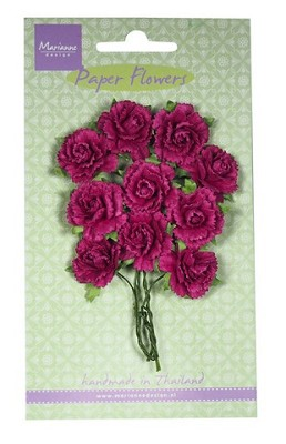 Marianne D Decoration Carnations - medium pink RB2259