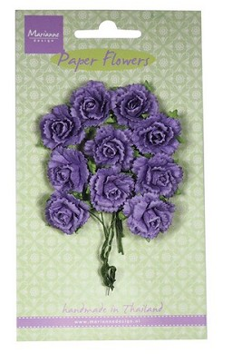 Marianne D Decoration Carnations - dark lavender RB2261