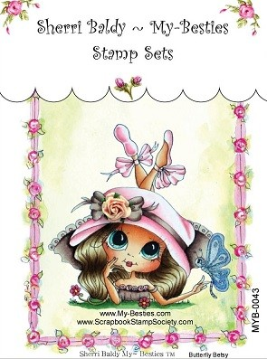 My Besties - Clear Stamps Butterfly Betsy