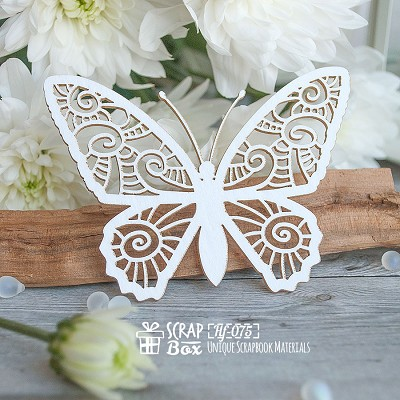 Chipboard Butterfly Hf-075