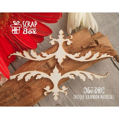 "Chipboard border ""baroque"" №1 Hw-010"