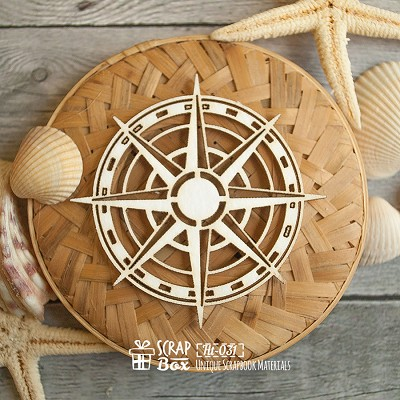 Chipboard Simple compass Ht-031