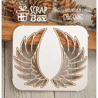 "Chipboard ""Wings"" №1 Ho-006"