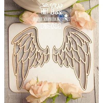"Chipboard ""Wings"" №2 Ho-025"