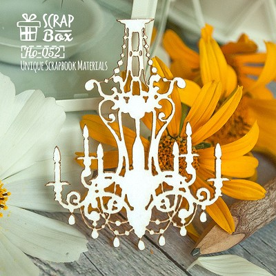 Chipboard chandelier Ho-052