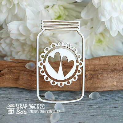 Chipboard jar Hm-047