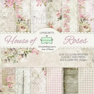 Scrapbooking papers - House of roses 12 x12