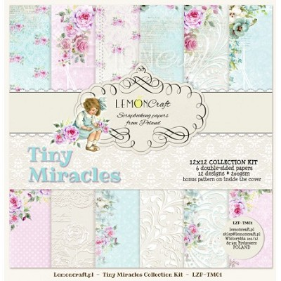 Set of scrapbooking papers - Tiny Miracles 12 x 12