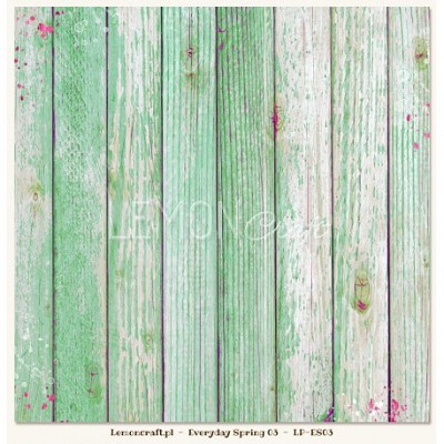 Double sided scrapbooking paper - Everyday Spring 03 12x12