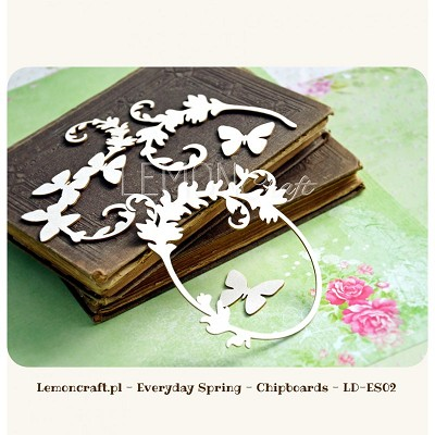 Chipboard set - Everyday Spring collection