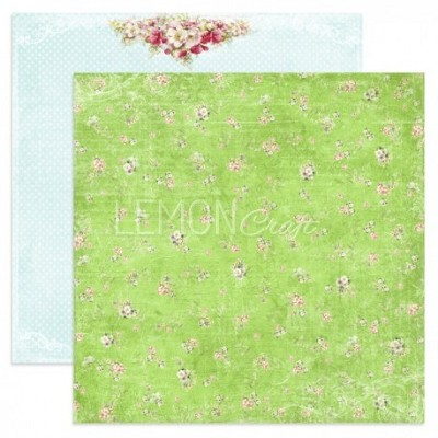 Double-sided scrapbooking paper, Neverending Summer - Walk through the meadow