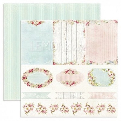 Double-sided scrapbooking paper, Neverending Summer - Journey into the unknow