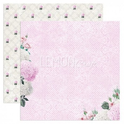 LemonCraft, Double-sided scrapbooking paper, Dreamy Mornings - Touch if the Sun