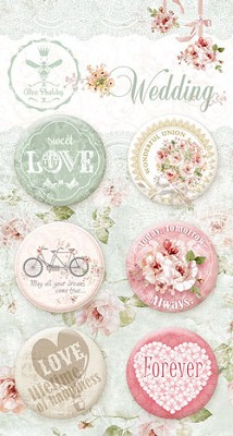 Wedding - Buttons