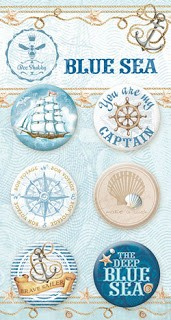 Blue Sea - Buttons