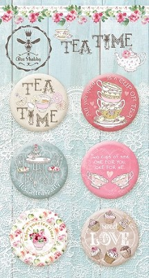 Tea Time - Buttons