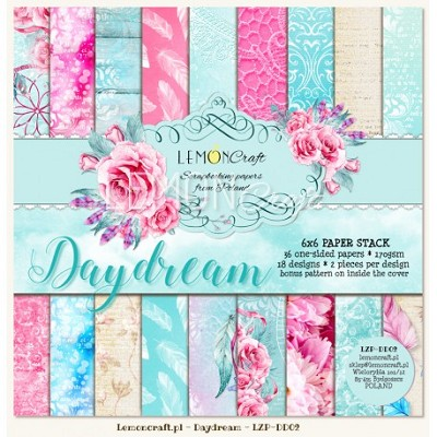Lemoncraft Pad of scrapbooking papers - Daydream 6x6 - LZP-DD02