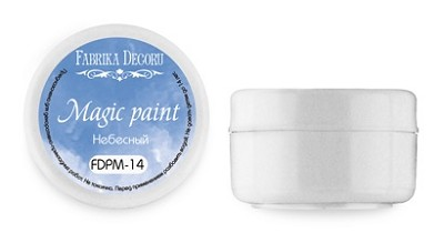 Fabrika Decoru - Dry paint Magic paint color Heavenly, 15ml