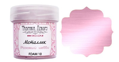 Fabrika Decoru - Metallic paint. Color Pink Shabby