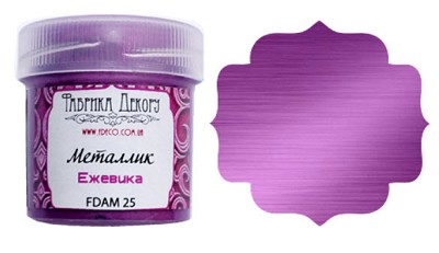 Fabrika Decoru - Metallic paint. Color Blackberry