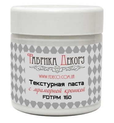 Fabrika Decoru - Texture paste with marble particles