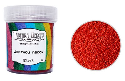 Fabrika Decoru - Colored sand. Ruby