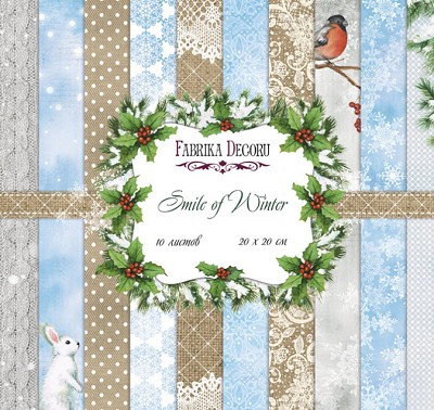 Fabrika Decoru - Smile of Winter Paperpad  8 x 8 inch