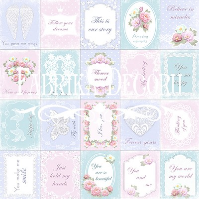 Fabrika Decoru - Set of of pictures for cutting. Set №1 Shabby Dreams