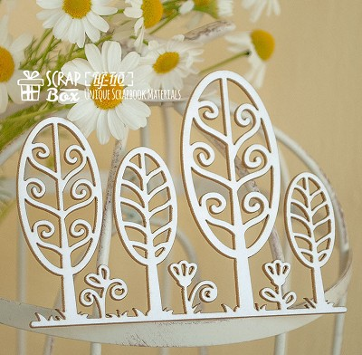 Chipboard garden trees Hf-110