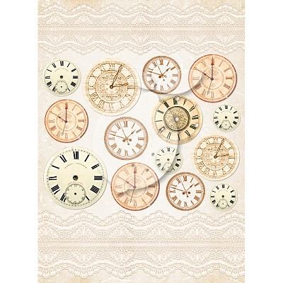 Lemoncraft Grow old with me - One-sided scrapbooking paper - Vintage Time 035