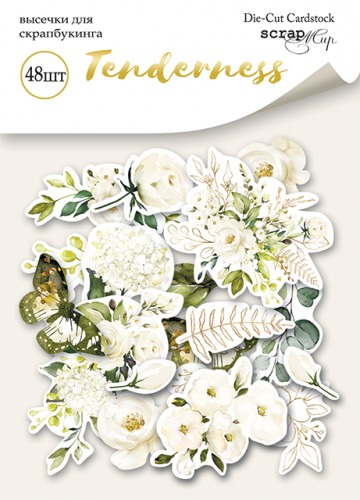 Scrapmir - Diecut Set for scrapbooking 48pcs collection Tenderness
