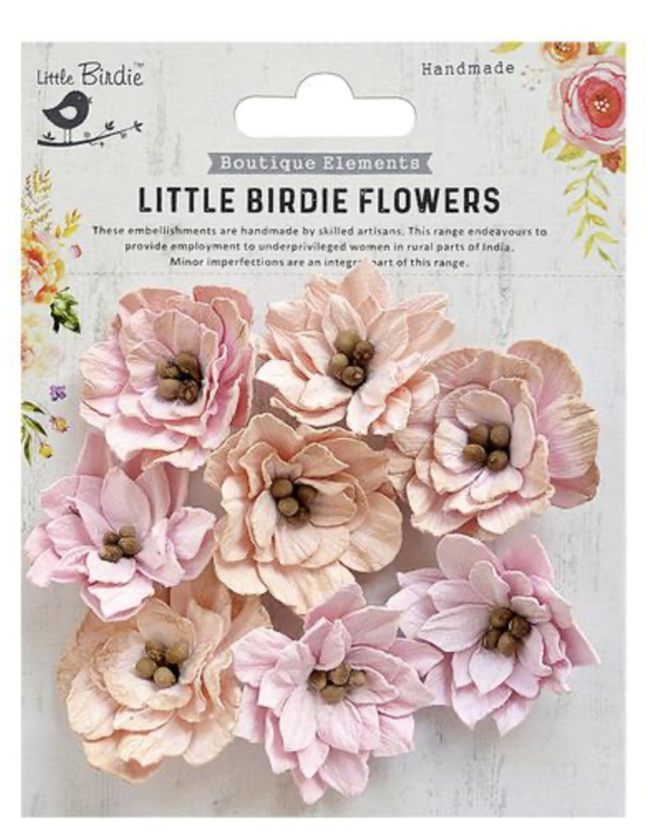 Little Birdie Flowers- Serenade- Perl Pink