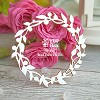 Chipboard wreath Hr-067