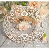 Chipboard oval frame