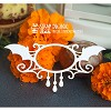 Chipboard small frame Halloween Hh-068