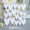 Chipboard background hearts Hb-020